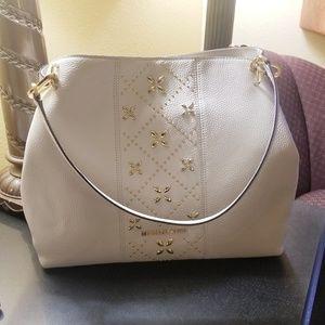 Michael Kors Leighton Large Shoulder Tote Bag